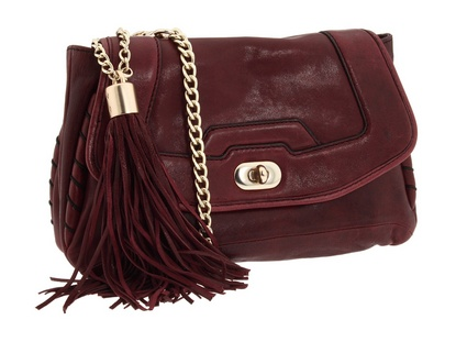 oxblood bag