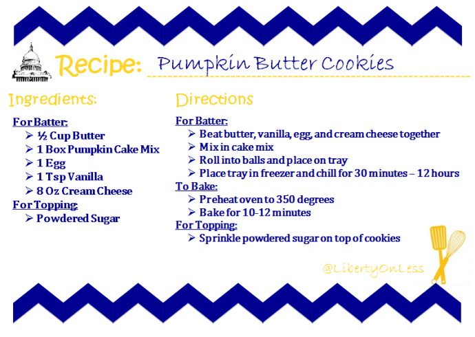 Pumpkin Butter Cookies