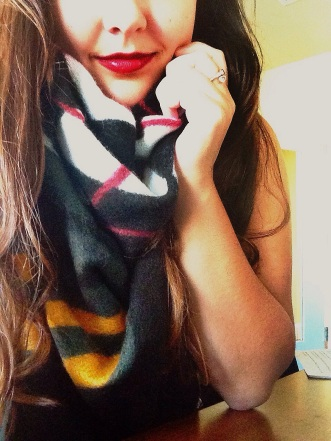 me in scarf
